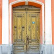 Stock Photo: Double door