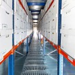 Stock Photo: Boxes corridor