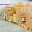 Warehouse package — Stock Photo