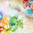 Royalty-Free Stock Photo: Painter mix