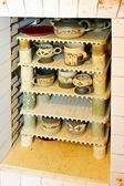 Ceramic kiln oven — Stock Photo