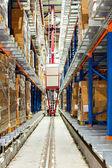 Warehouse robot — Stock Photo