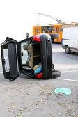 Rolar sobre acidente — Foto Stock