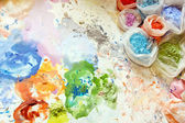 Painter mix — Stock Photo