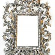 Royalty-Free Stock Photo: Silver frame