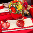 Stock Photo: Red decor