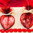 Stock Photo: Heart soaps