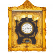 Golden clock — Foto de Stock