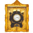 Golden clock — Stockfoto