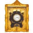 Golden clock — Stock Photo