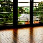 Glass doors — Stock Photo