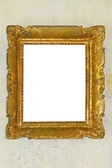 Golden frame — Stock Photo