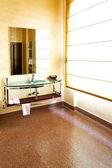 Toalett sepia — Stockfoto