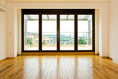 Four glass doors — Foto de Stock