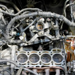 Stock Photo: Engine reparation