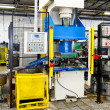 Hydraulic press machine — Stock Photo #2254246