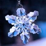Crystal snowflake — Stock Photo #2255511