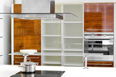 Kitchen cabinet — Stock Photo