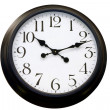 Stock Photo: Simple clock
