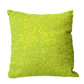 Green pillow — Stock Photo
