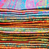 Scarves color — Stock Photo