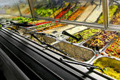 Prepared vegetables — Stock Photo
