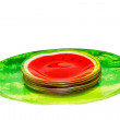 Stock Photo: Watermelon plates
