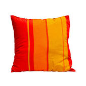Almofada laranja — Fotografia Stock