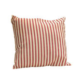 Red straps pillows — Stock Photo