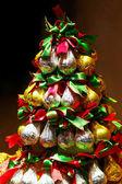 Chocolate Christmas tree — Stock Photo