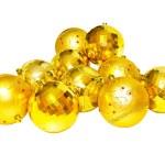 Golden pendants isolated — Stock Photo #2470594