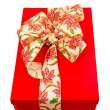 Royalty-Free Stock Photo: Red gift bow