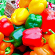 Color paprika market — Stock Photo #2470919