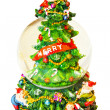 Merry Christmas ball - Stockfoto