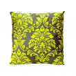 Green ornament pillow — Stock Photo