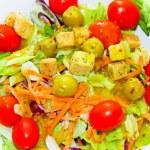 Salad meal — Stock Photo