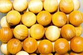 Small wooden balls — Stock Photo