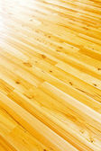Parquet floor diagonal — Stock Photo