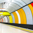 Underground tube — Stock Photo