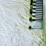 Dock stairs — Stock Photo