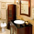 Foto Stock: Classic bathroom