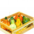 Gourds in crate — Stock Photo #2539030