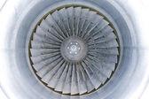 Jet turbine blades — Stock Photo