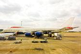 Jumbo plane — Stock Photo