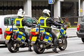 Motorbike police — Stock Photo