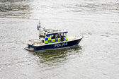 Police boat — Stock Photo