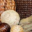 Rattan decor - Stock Photo