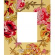 Frame floral — Stock Photo