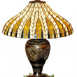 Bronze lamp — Stock Photo