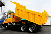 Yellow tipper — Stock Photo